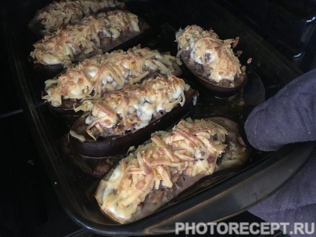 Фото рецепта - Фаршированные баклажаны - шаг 10