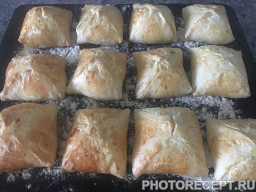 Фото рецепта - Конвертики из куриного филе с сыром - шаг 9