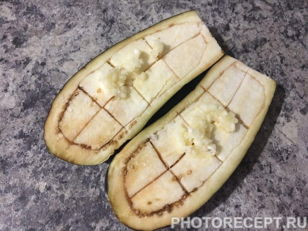 Фото рецепта - Запеченные овощи с начинкой - шаг 6