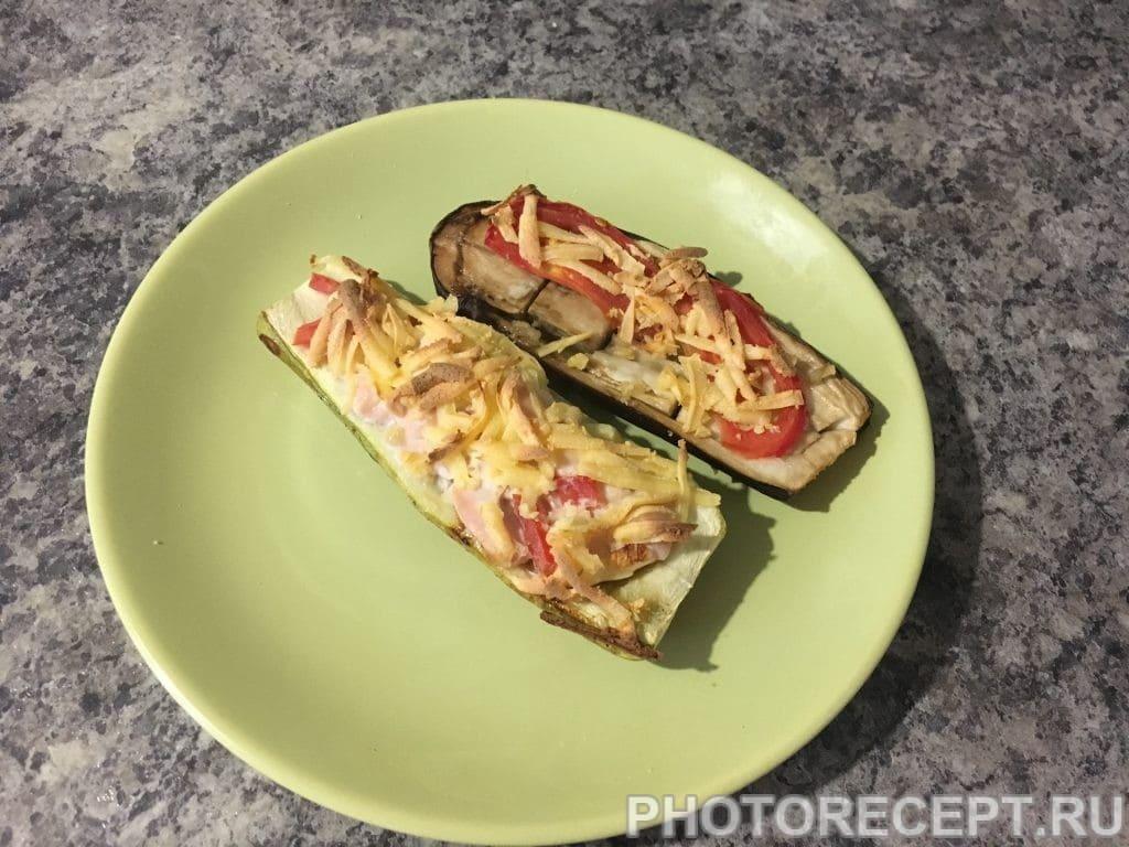 Фото рецепта - Запеченные овощи с начинкой - шаг 10