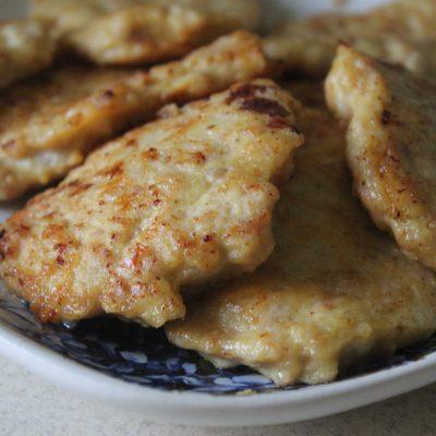 Сытные куриные блины с сыром - рецепт с фото