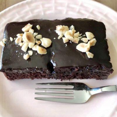 Шоколадный влажный кекс со вкусом Брауни - рецепт с фото