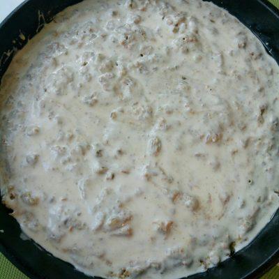Фото рецепта - Заливной пирог с печенью - шаг 6