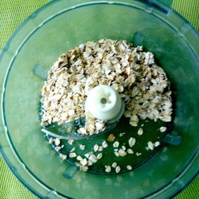 Овсяноблин с творогом и зеленью - рецепт пошаговый с фото