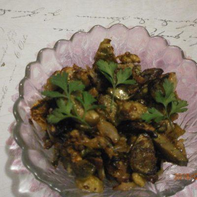 Баклажаны жареные под «грибы» - рецепт с фото