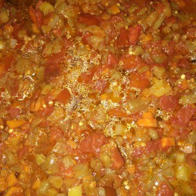 Фото рецепта - Овощной тар-тар с баклажанами - шаг 2
