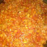 Фото рецепта - Овощной тар-тар с баклажанами - шаг 3