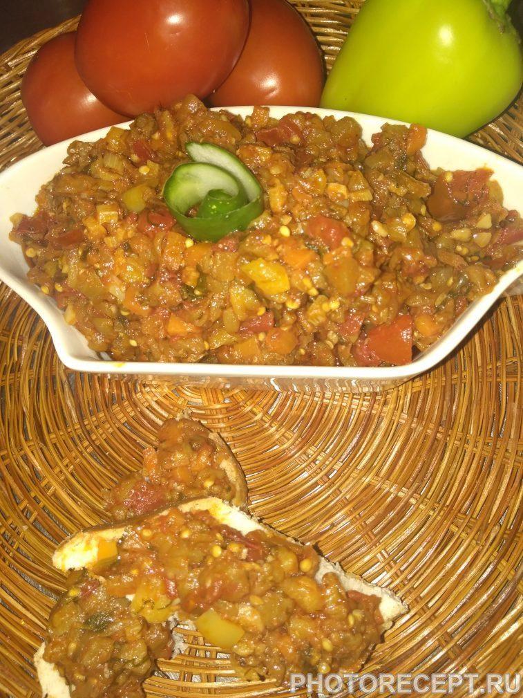 Фото рецепта - Овощной тар-тар с баклажанами - шаг 4