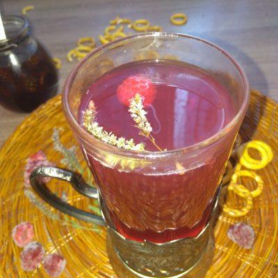 Ягодный чай с мятой - рецепт с фото