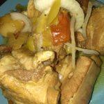 Фото рецепта - Свиные ребра в мультиварке с соусом из овощей - шаг 5