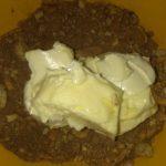 Фото рецепта - Шоколадная колбаса с грецким орехом - шаг 2