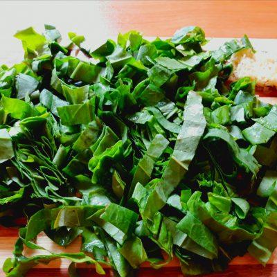 Фото рецепта - Зеленый борщ - шаг 7
