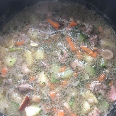 Овощное рагу с говядиной - рецепт с фото