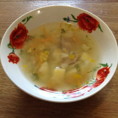 Детский суп - рецепт с фото