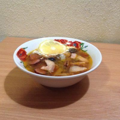 Солянка с картошкой - рецепт с фото