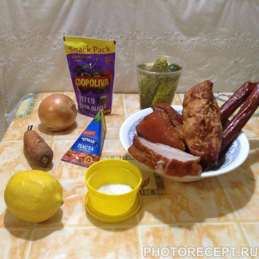 Фото рецепта - Солянка с картошкой - шаг 2