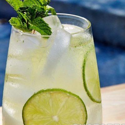 Лаймовый напиток с водкой - рецепт с фото