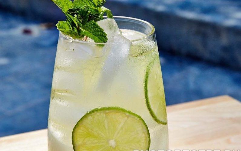 Лаймовый напиток с водкой