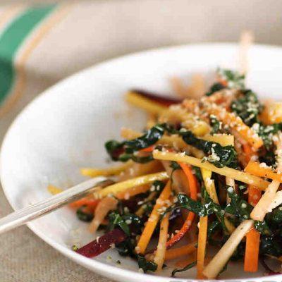 Морской салат из капусты и моркови - рецепт с фото