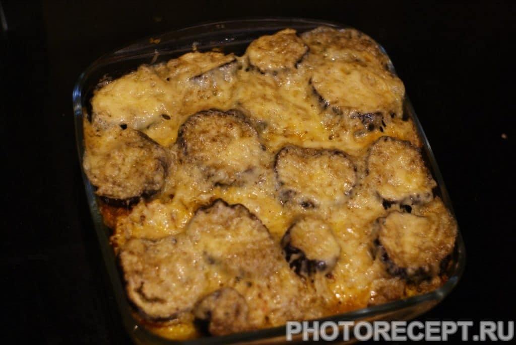 Фото рецепта - Запеченные баклажаны с картофелем и сыром - шаг 17