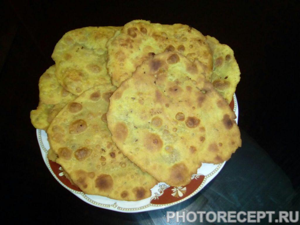Фото рецепта - Индийские лепешки Ротти - шаг 8