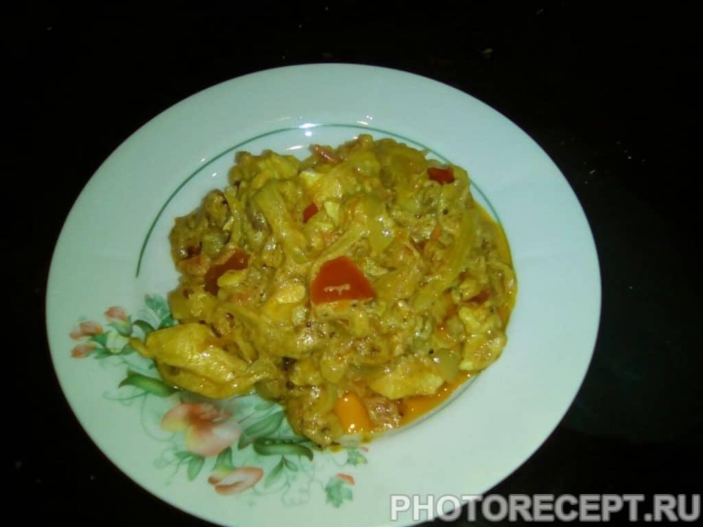 Фото рецепта - Индийская курочка - шаг 14