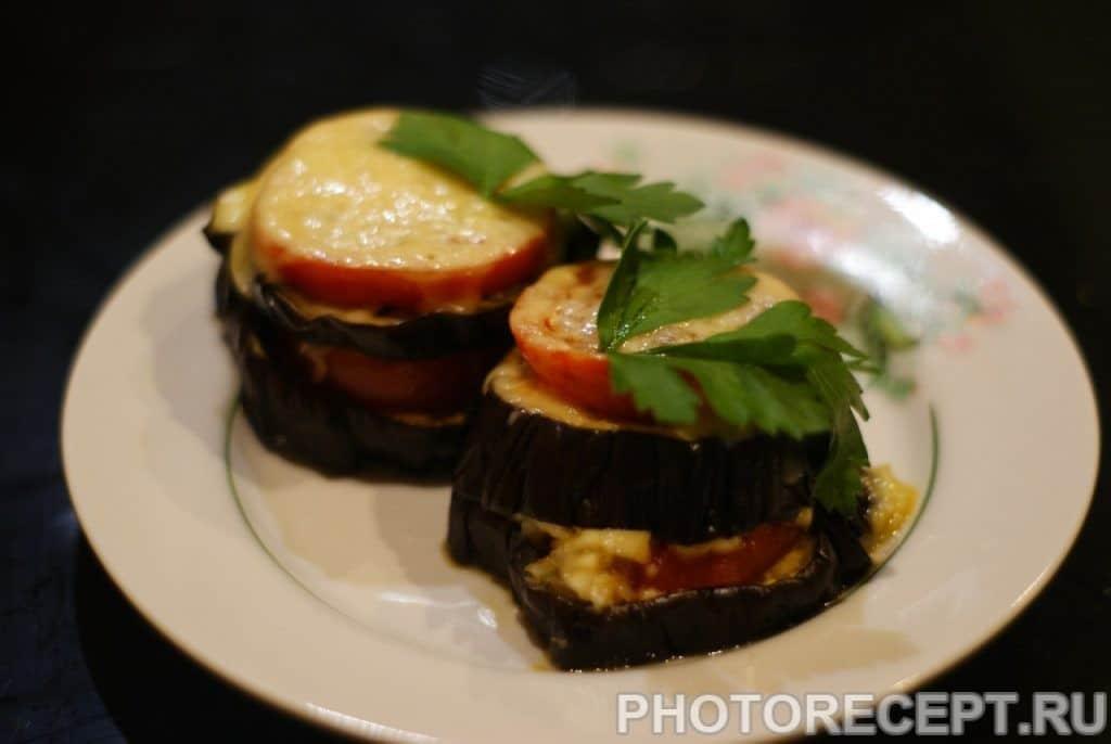 Фото рецепта - Закуска из баклажанов - шаг 13