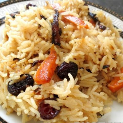 Рисовая каша с морковью и изюмом, в мультиварке - рецепт с фото