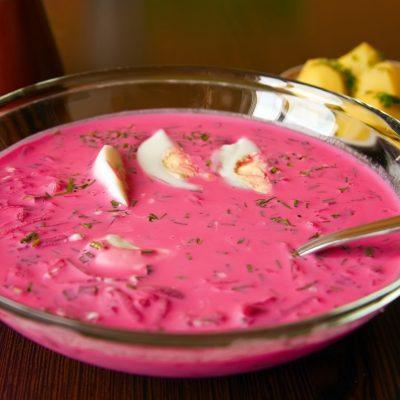 Холодник – суп из свеклы и картофеля «По-литовски» - рецепт с фото