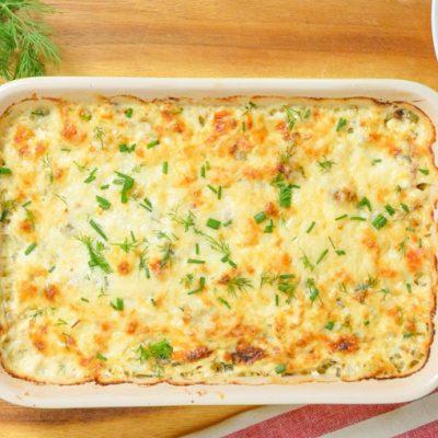 Запеканка из цветной капусты, крабов и кукурузы - рецепт с фото