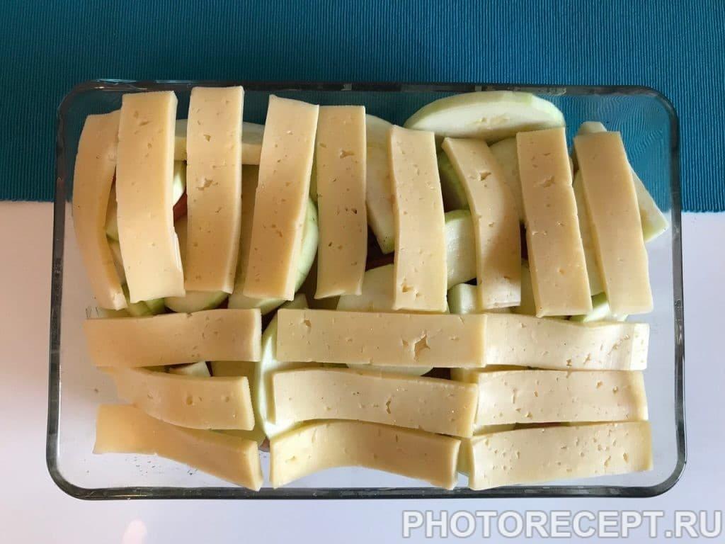 Фото рецепта - Сочная курочка с помидорами и кабачками в духовке - шаг 7