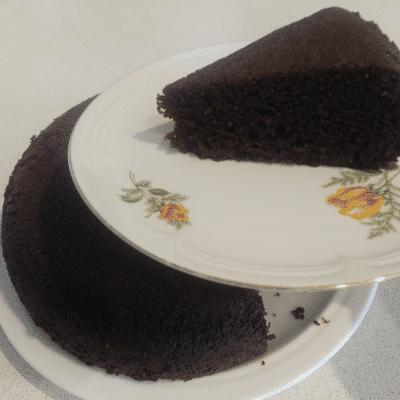 Быстрый шоколадный пирог в мультиварке - рецепт с фото