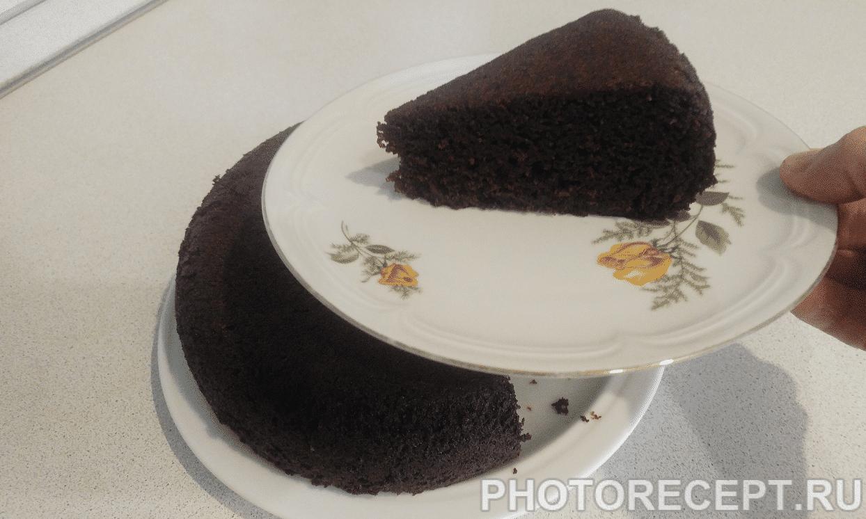 Быстрый шоколадный пирог в мультиварке