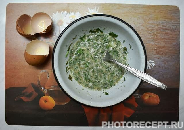 Фото рецепта - Хитрые драники из кабачка - шаг 2