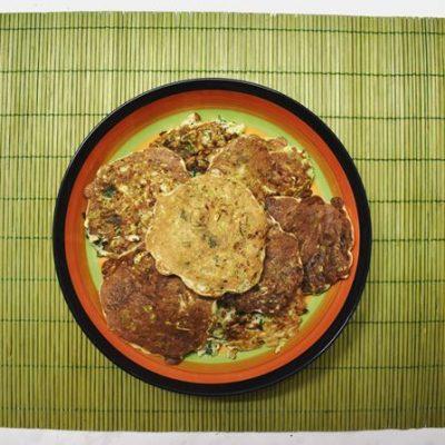 Хитрые драники из кабачка - рецепт с фото