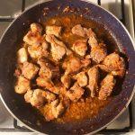 Тушеная свинина в соевом соусе