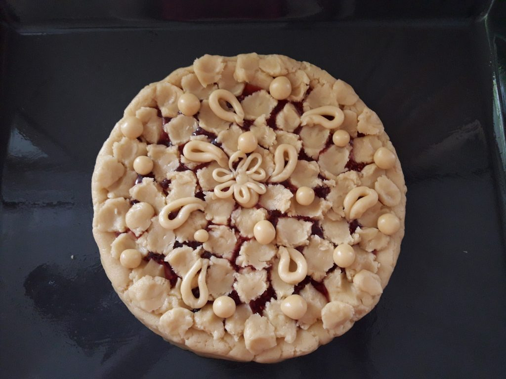 Фото рецепта - Ажурный пирог - шаг 7