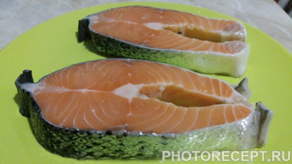Фото рецепта - Запеченый лосось - шаг 1