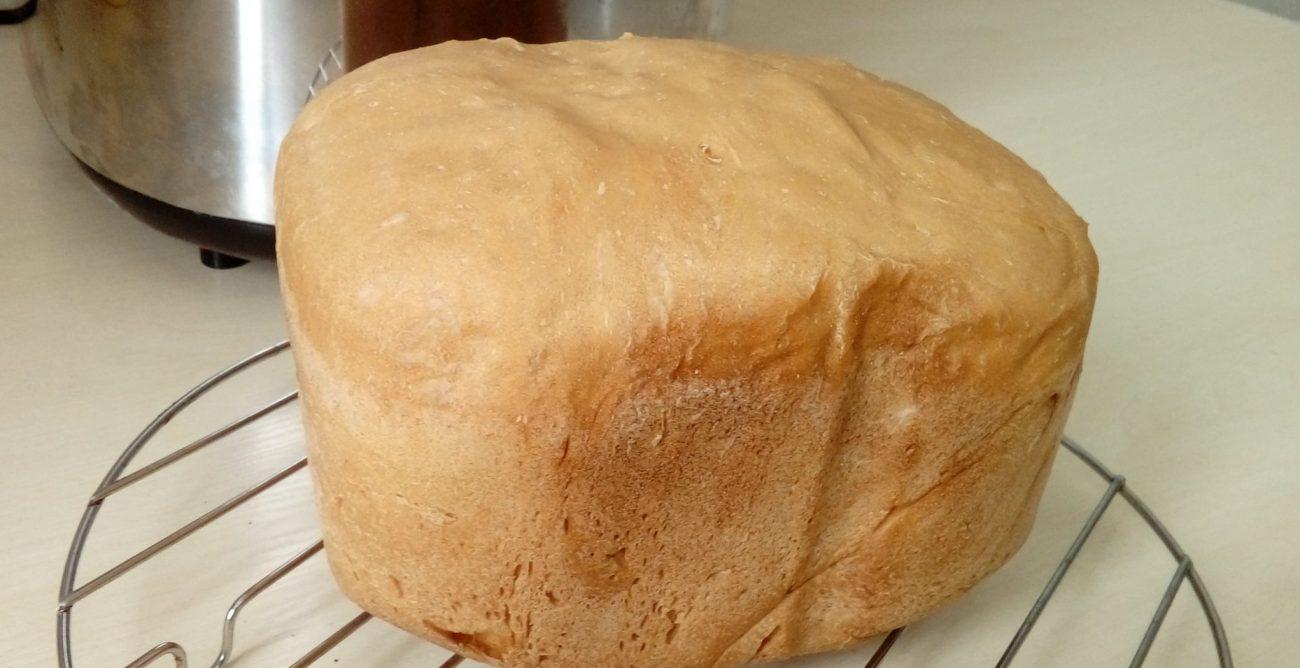 """Белый хлеб """"Французская булка"""" в хлебопечке"""