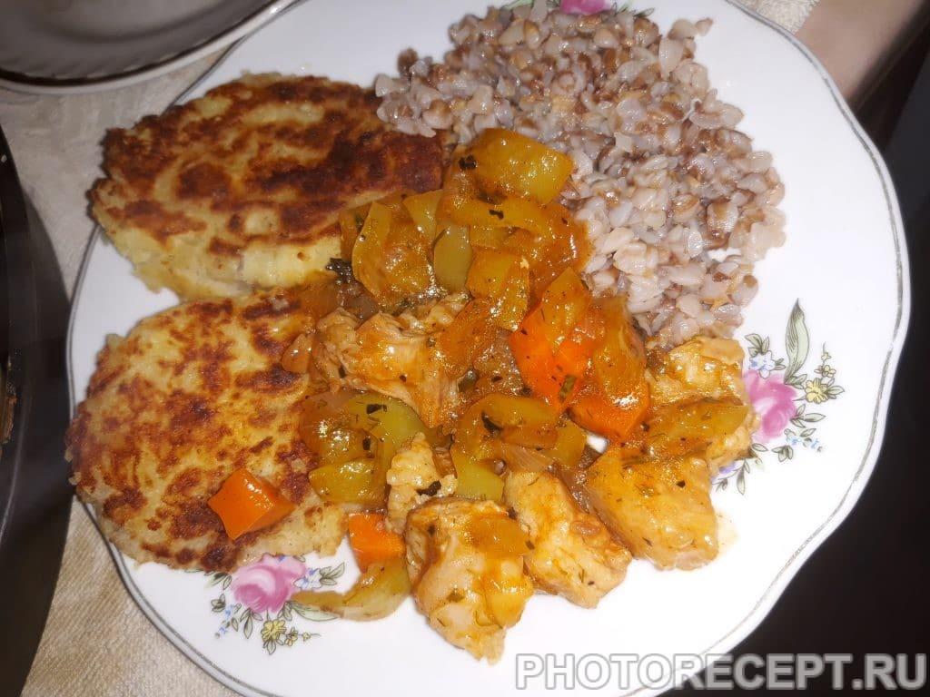 Фото рецепта - Мясная подлива перцем и морковью - шаг 5