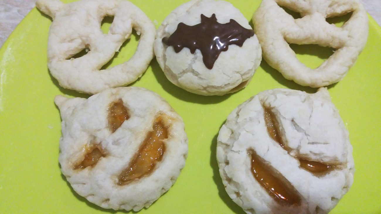 Быстрое печенье на Хэллоуин
