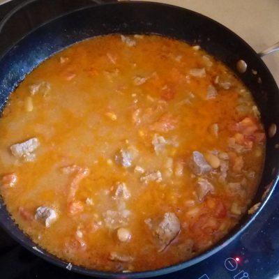 Фото рецепта - Овощное рагу с говядиной и лаймом - шаг 4