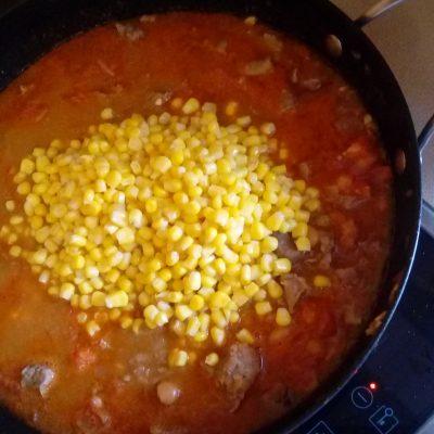 Фото рецепта - Овощное рагу с говядиной и лаймом - шаг 5