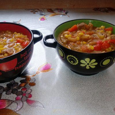 Фото рецепта - Овощное рагу с говядиной и лаймом - шаг 6