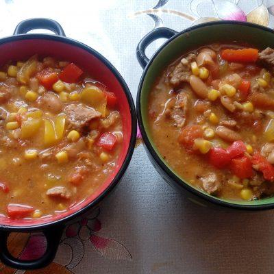 Овощное рагу с говядиной и лаймом - рецепт с фото