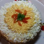 Фото рецепта - Печеночный торт с морковью - шаг 9