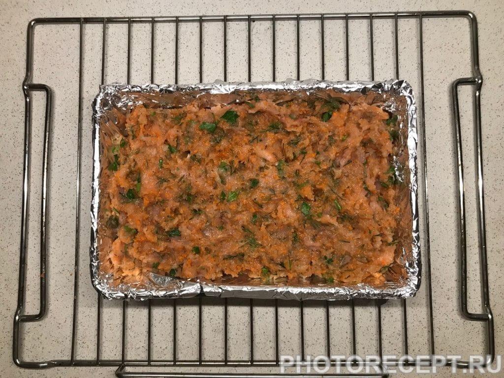 Фото рецепта - Мясная буханка из курицы - шаг 5
