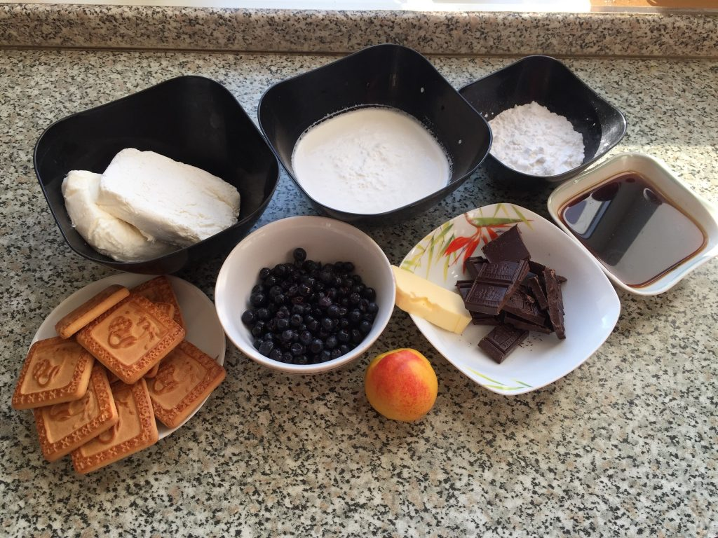 Фото рецепта - Десерт Волшебное Облако без выпечки - шаг 1