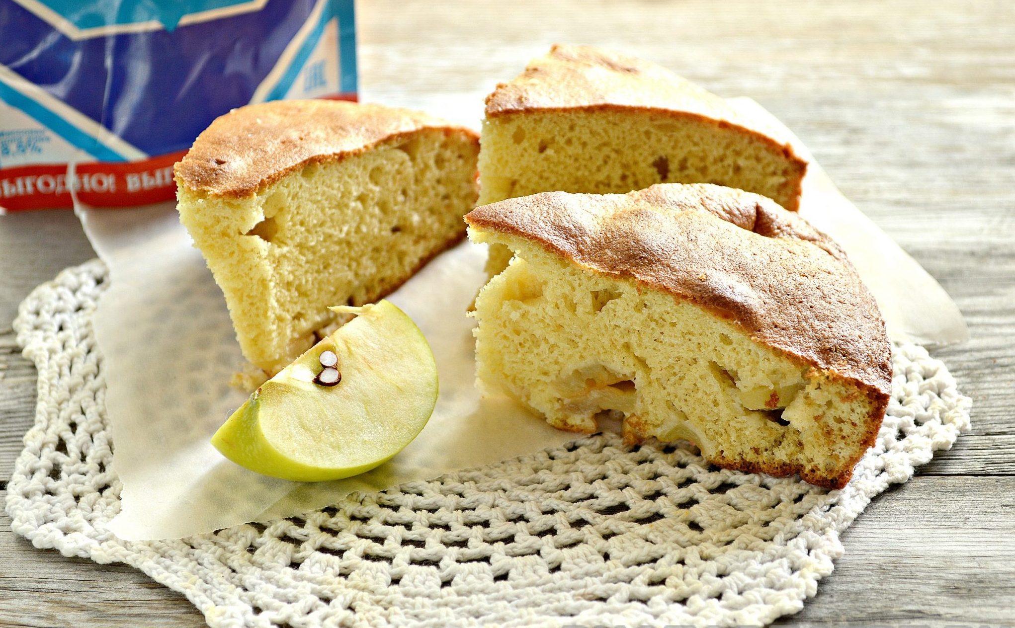 примеров яблочный пирог на молоке с фото церковь