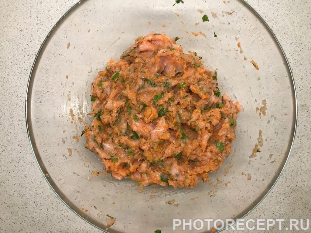 Фото рецепта - Мясная буханка из курицы - шаг 3